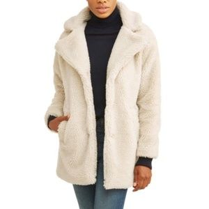 """Teddy bear"" coat"